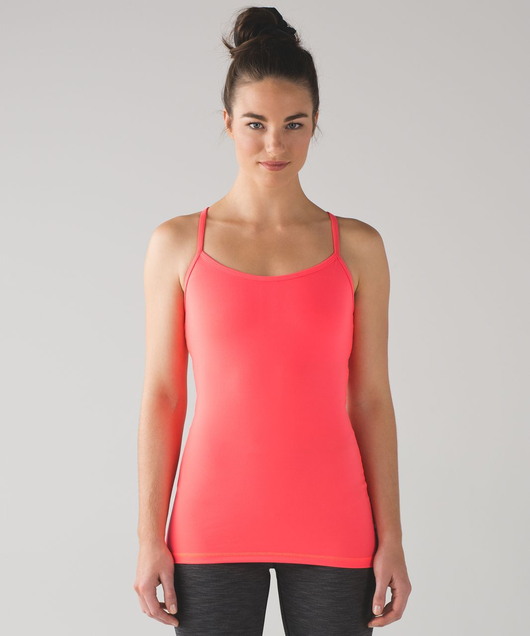 995cf3f70db48a Lululemon Power Y Tank - Electric Coral - lulu fanatics