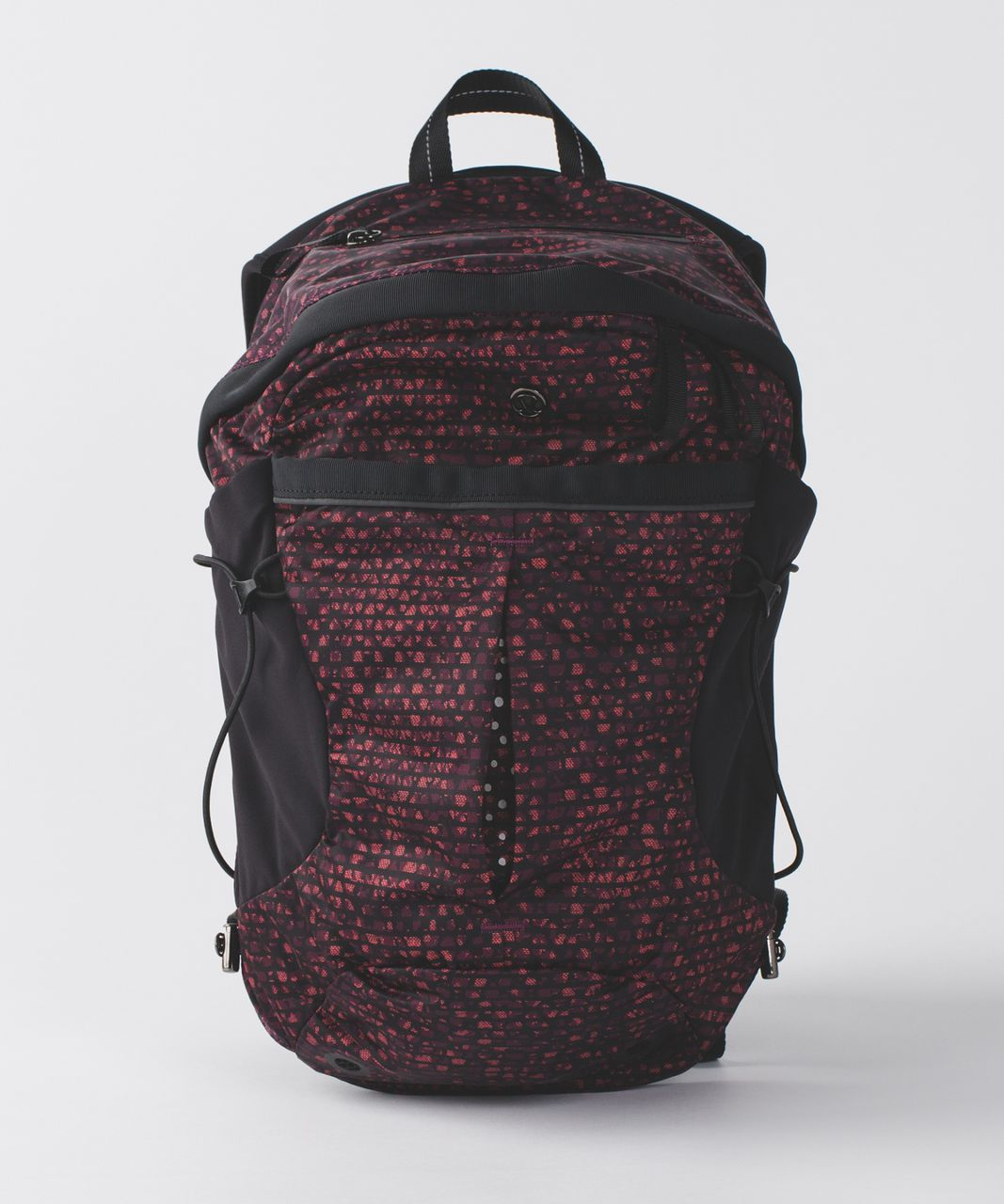 7e92d9861a Lululemon Run All Day Backpack - Shatter Weave Dust Coral Plum   Black -  lulu fanatics