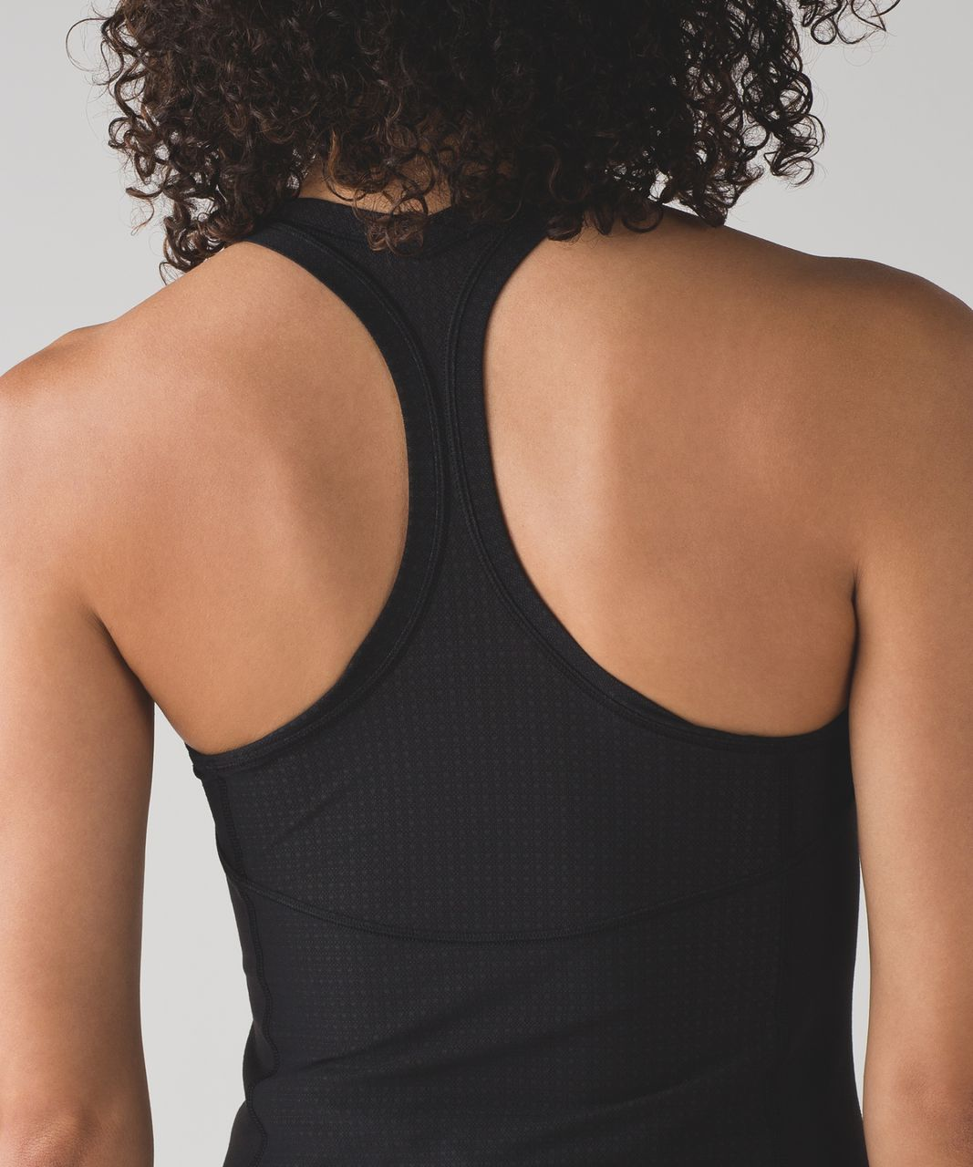 Lululemon Cool Racerback II Deep Breath - Black