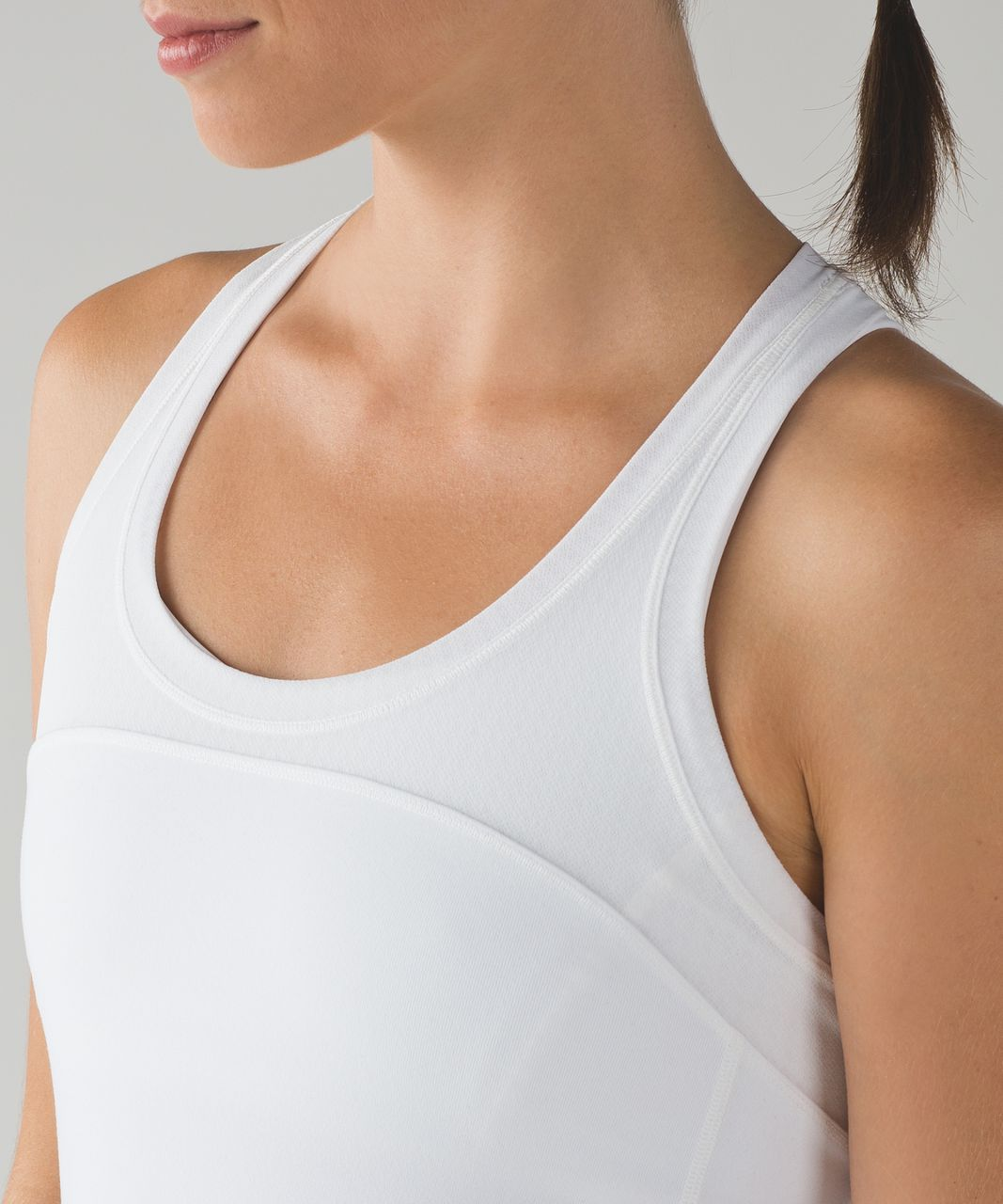 Lululemon Cool Racerback II Deep Breath - White