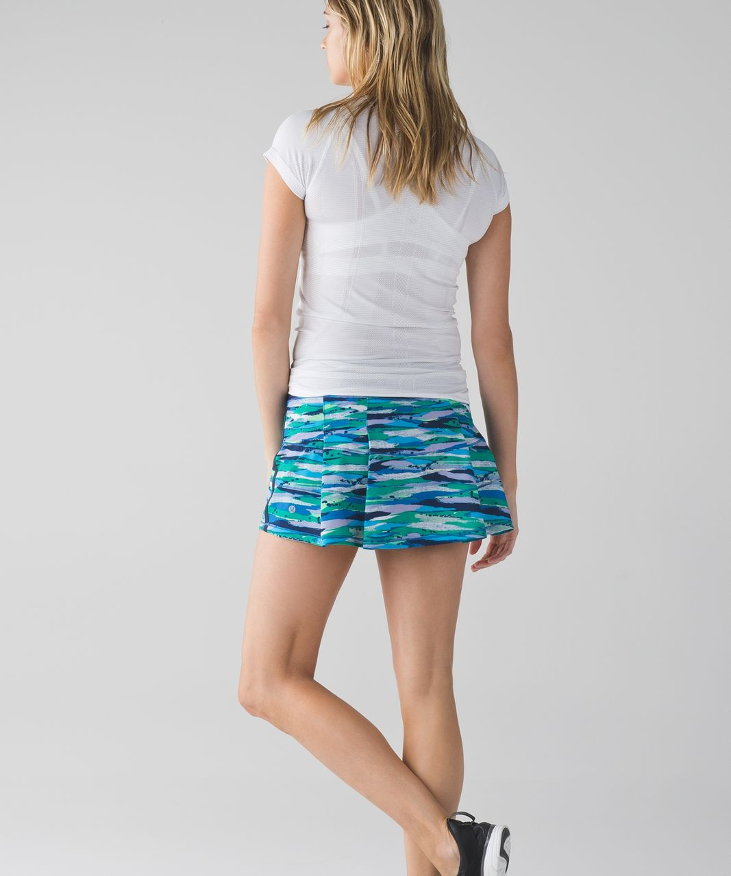 Lululemon Pace Rival Skirt II (Regular) - Seven Wonders Multi / Hero Blue