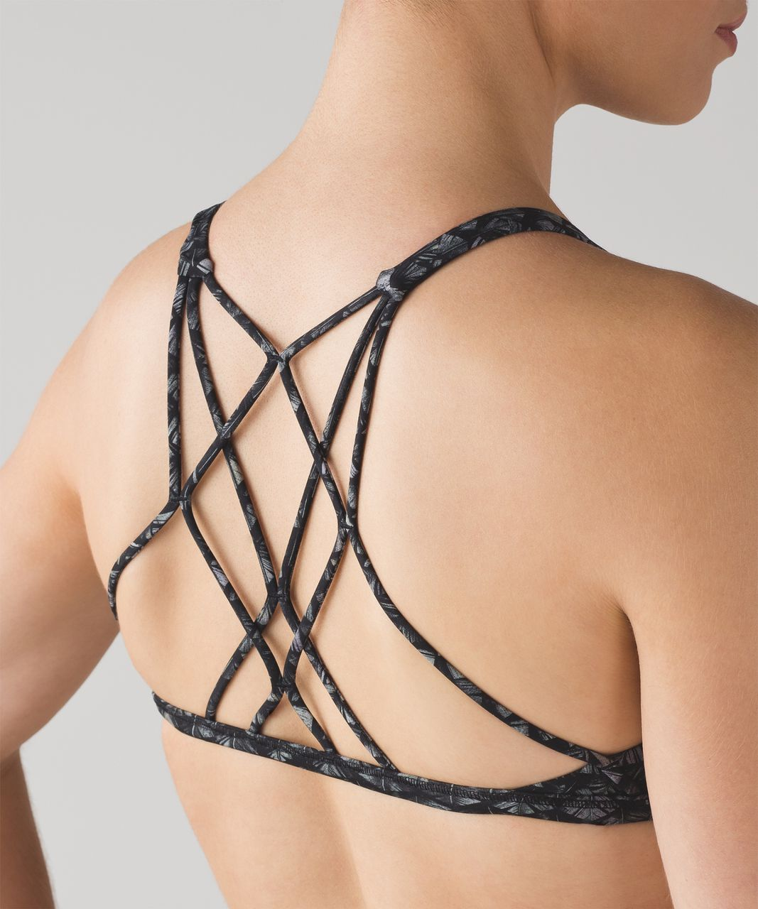 Lululemon Free To Be Zen Bra - Iridescent Multi Black
