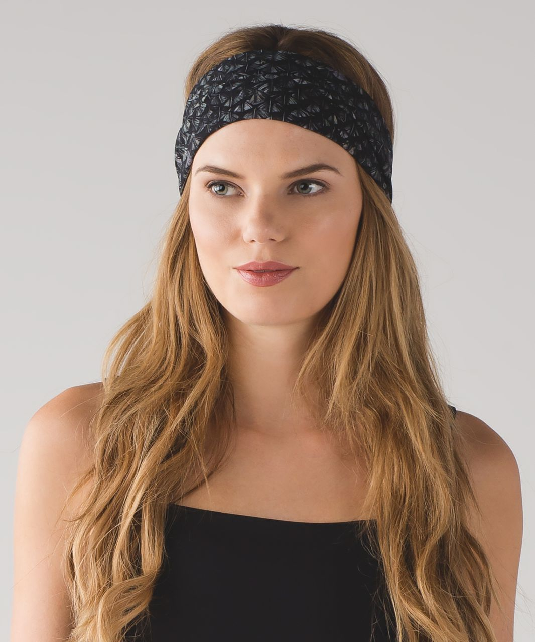 Lululemon Fringe Fighter Headband (Nulux) - Iridescent Multi Black