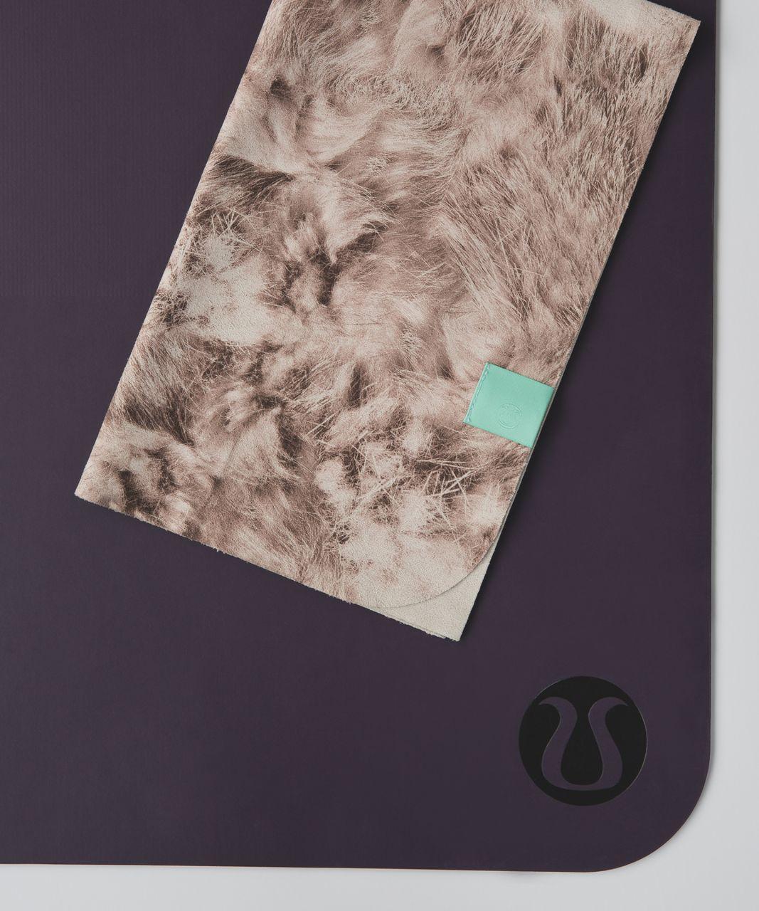 Lululemon The (Small) Towel - Furry Flurry White Tan Multi