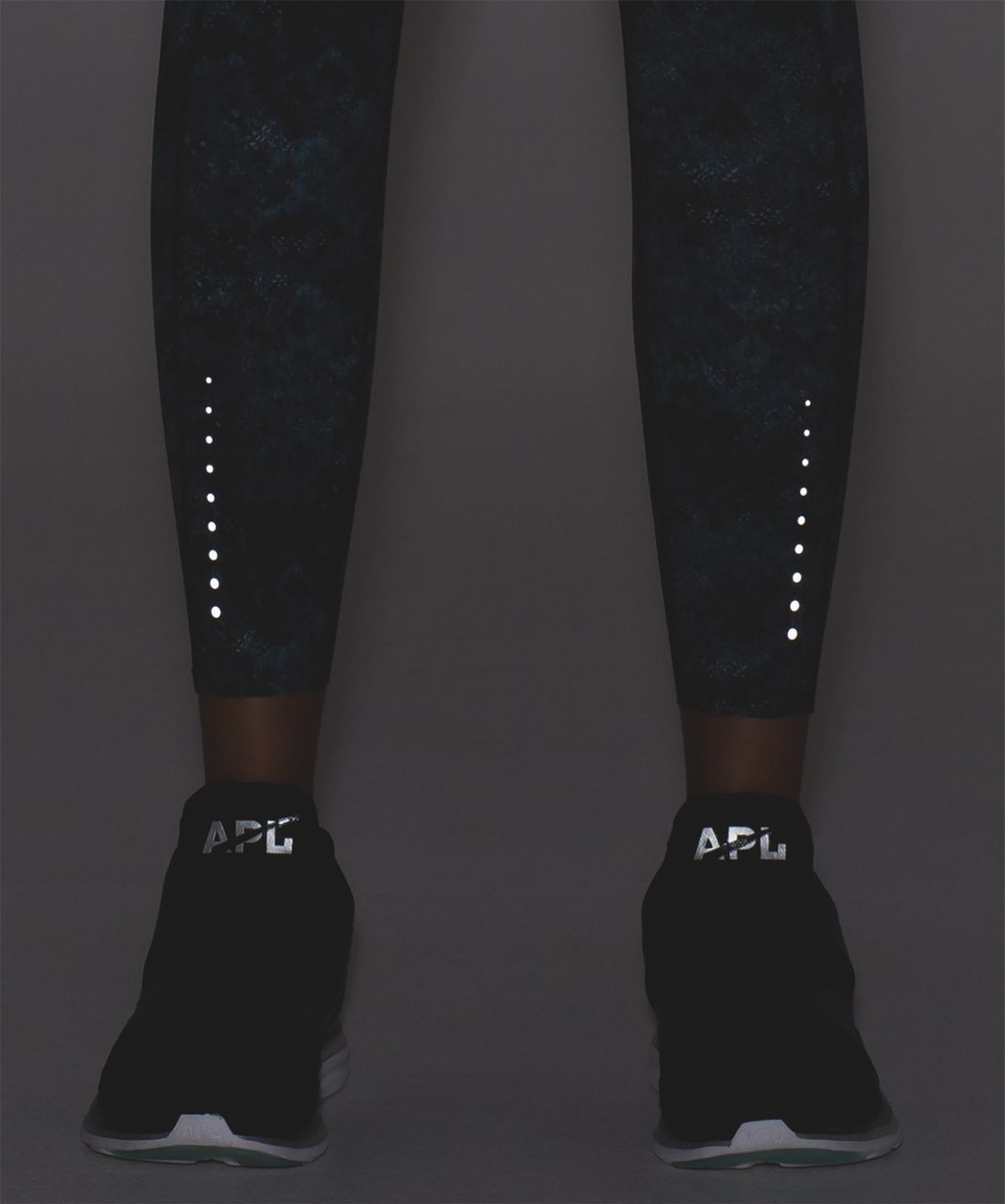 Lululemon Fast And Free 7/8 Tight - Fairisle Multi Black