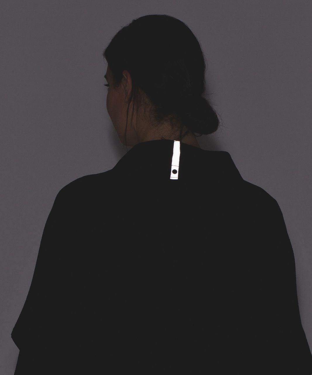 Lululemon Vinyasa Wrap - Running Luon Spray Jacquard Black Cherry Black / Black