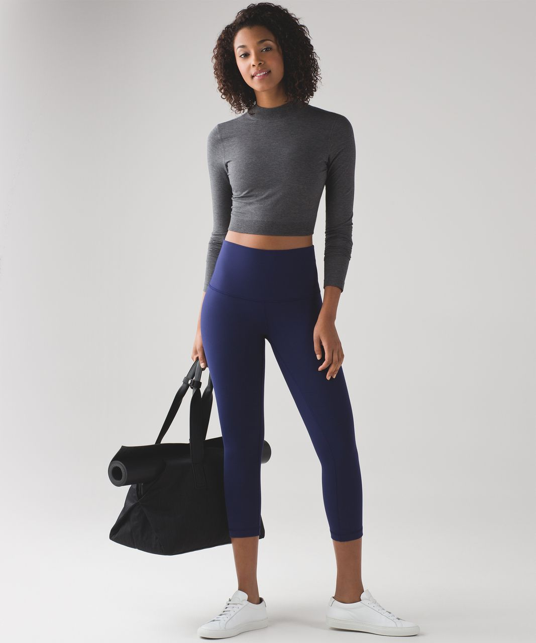 "Lululemon Wunder Under Crop (Hi-Rise) (21"") - Hero Blue"