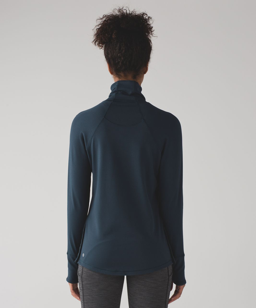 Lululemon Hill And Valley Turtleneck - Nocturnal Teal