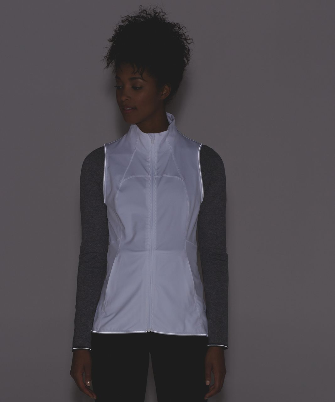 Lululemon Hill And Valley Vest - White