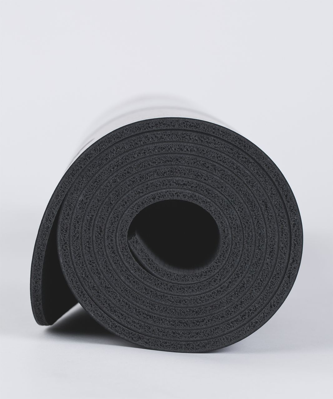 Lululemon The Reversible Mat 5mm - Frozen Fizz Ice Grey Black / Black