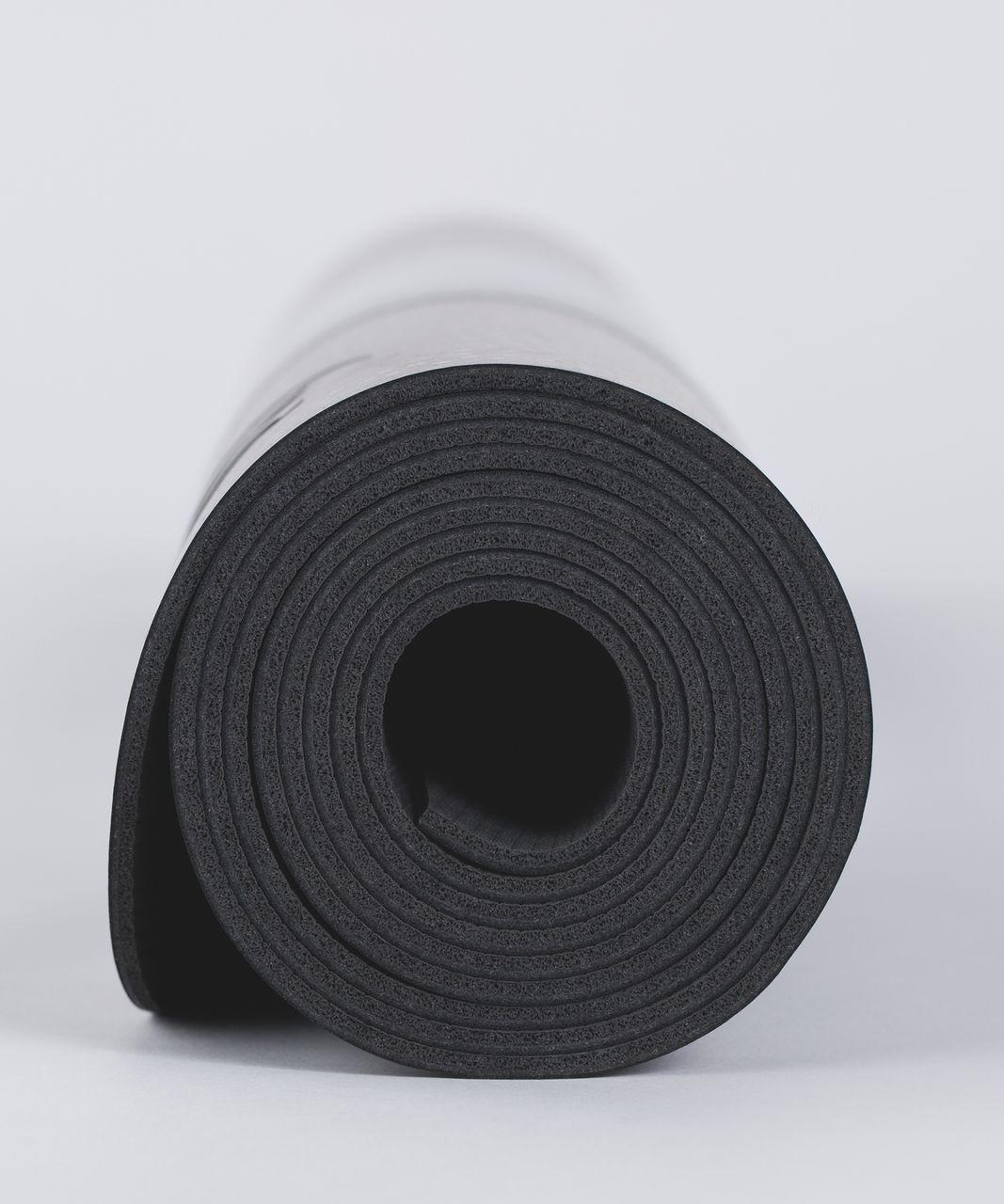 Lululemon The Reversible Mat 3mm - Frozen Fizz Ice Grey Black / Black