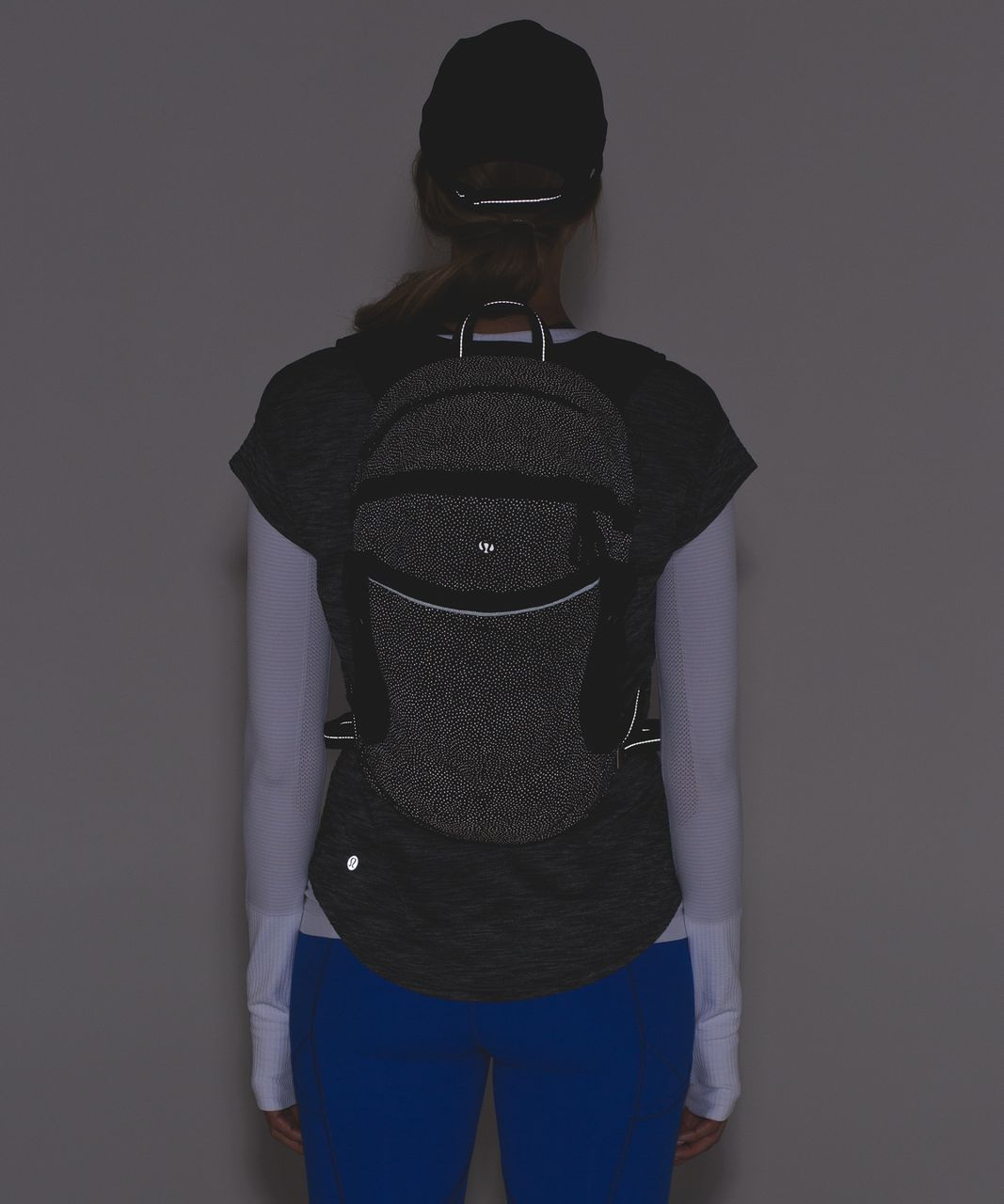 Lululemon Run All Day Backpack (Reflective) - Frozen Fizz Reflective Silver