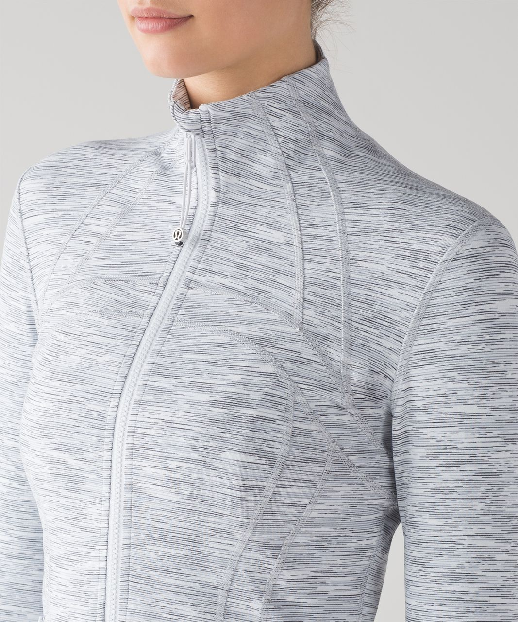 Lululemon Define Jacket - Wee Are From Space Ice Grey Alpine White