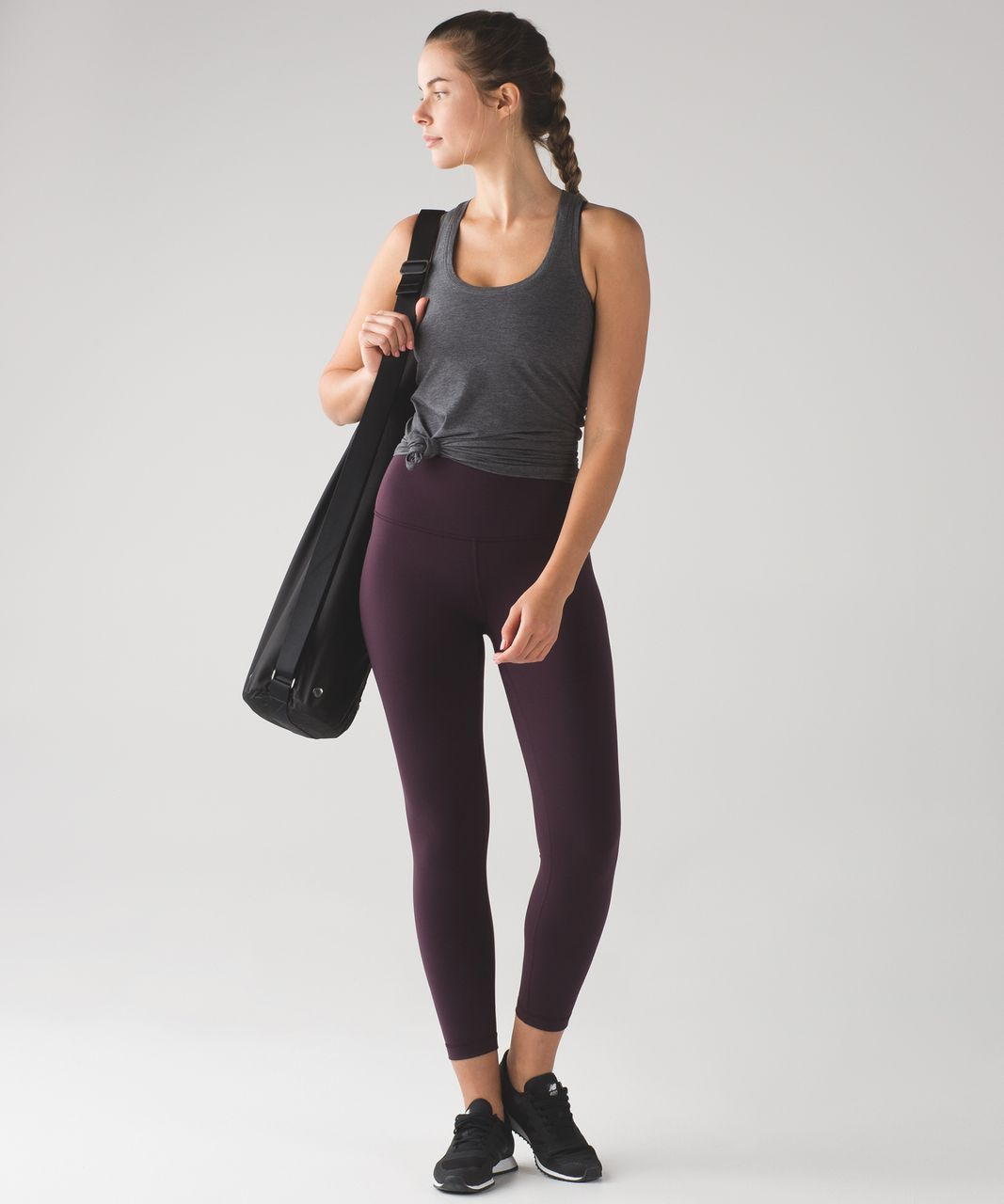 Lululemon High Times Pant - Black Cherry