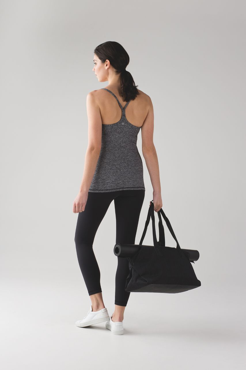 Lululemon Power Y Tank *Luon - Heathered Black