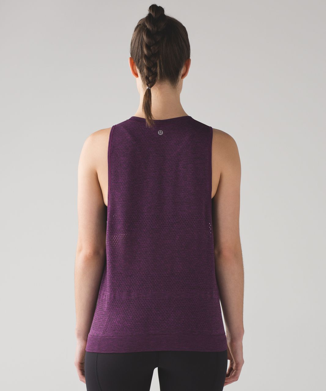 4aef1c2f84cf8e Lululemon Breeze By Muscle Tank - Aurora   Black - lulu fanatics
