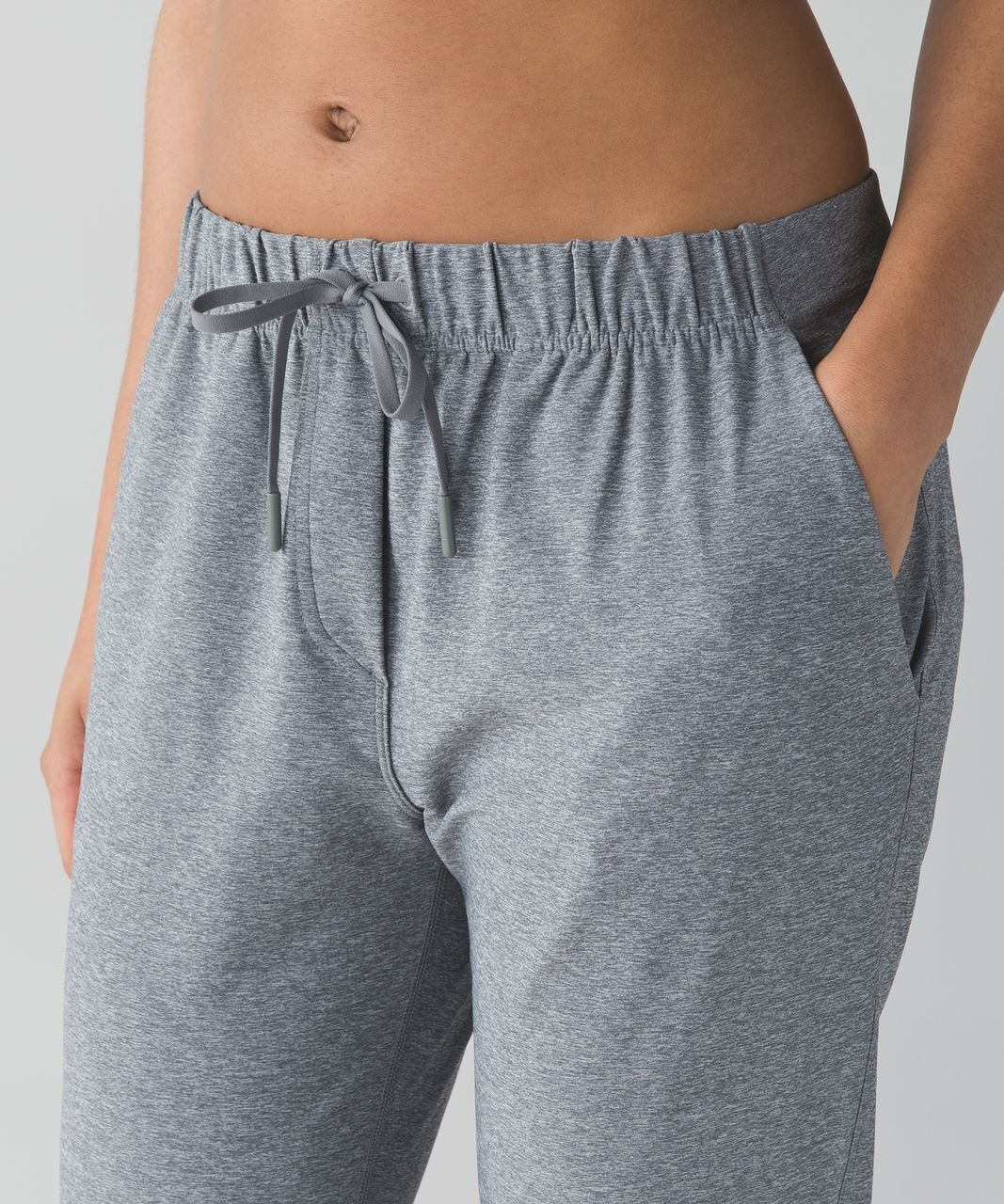Lululemon Jet Crop (Slim) - Heathered Slate (First Release)
