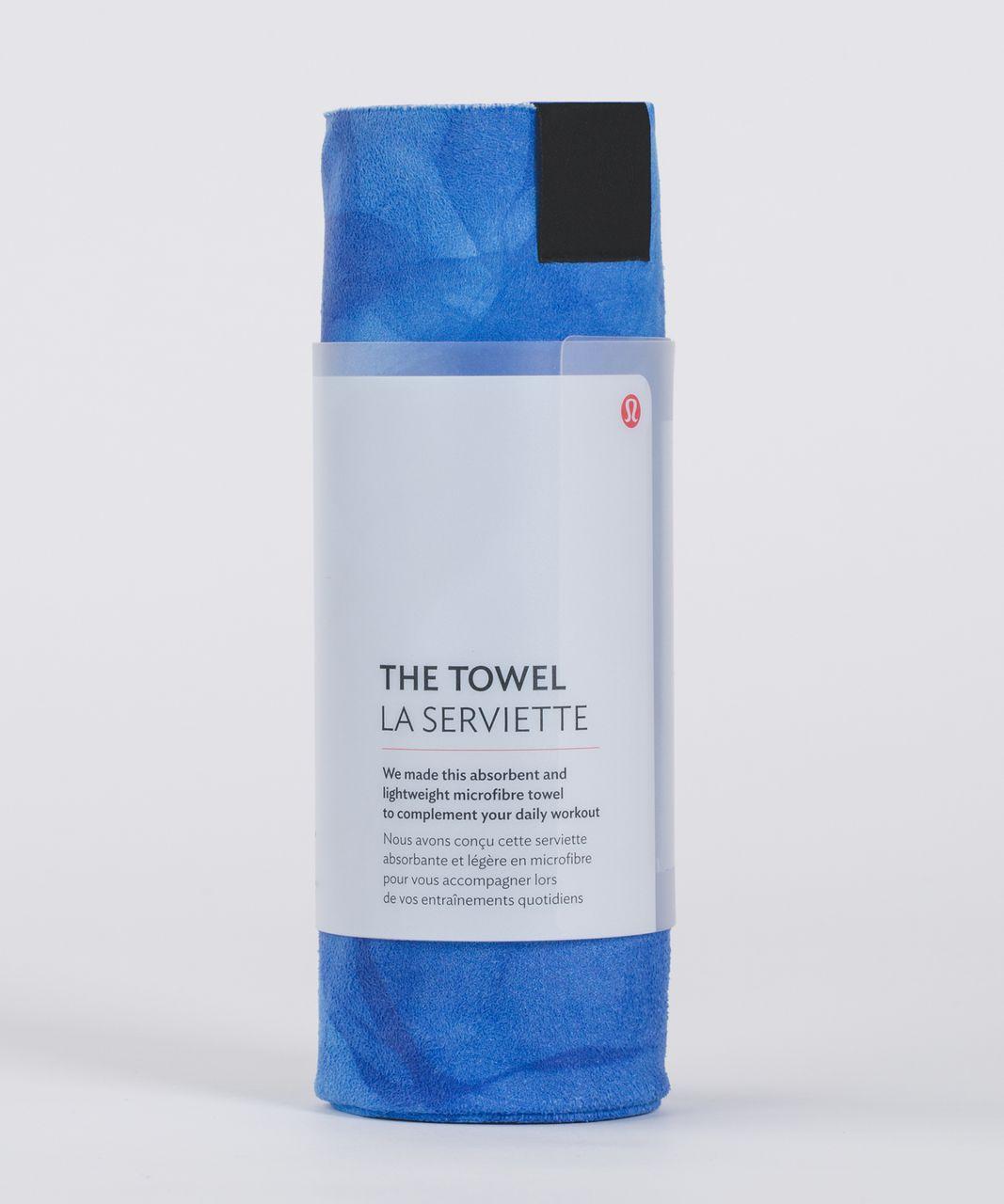 Lululemon The Towel - Midnight Tulle Multi