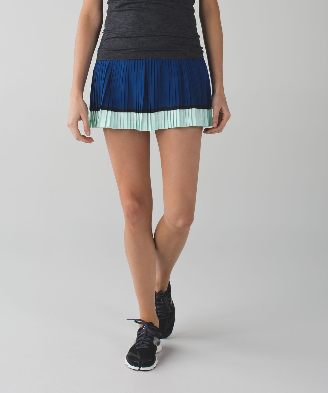 ce99848711 Lululemon Pleat To Street Skirt II - Poseidon / Sea Mist - lulu fanatics