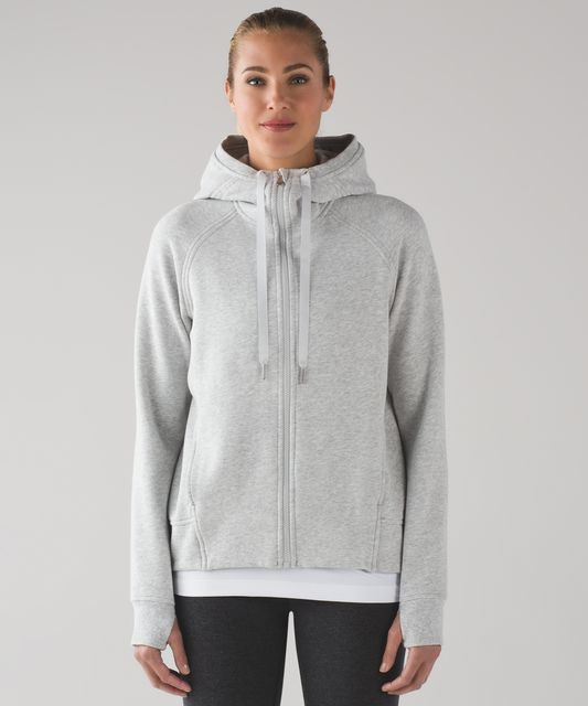 Lululemon Fleece Please Hoodie - Darkest Magenta - lulu fanatics