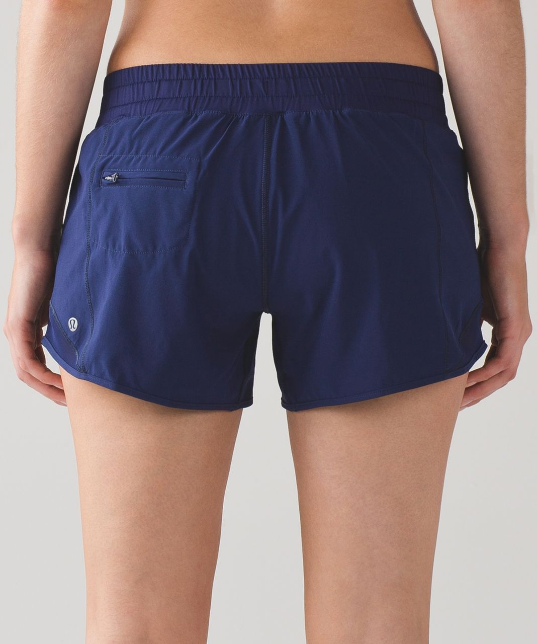 "Lululemon Hotty Hot Short (Long 4"") - Hero Blue"