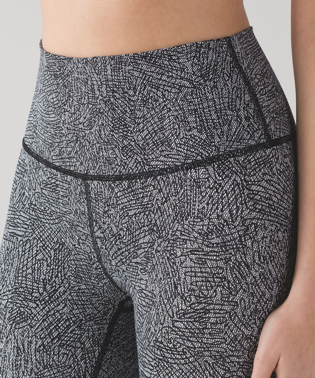 Lululemon High Times Pant - Line Up White Black
