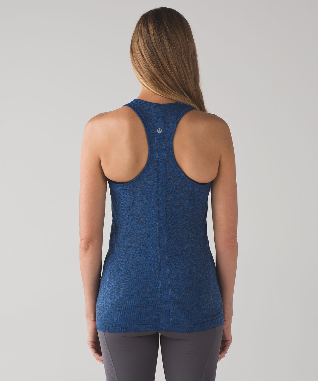 Lululemon Swiftly Tech Racerback - Cerulean Blue / Black