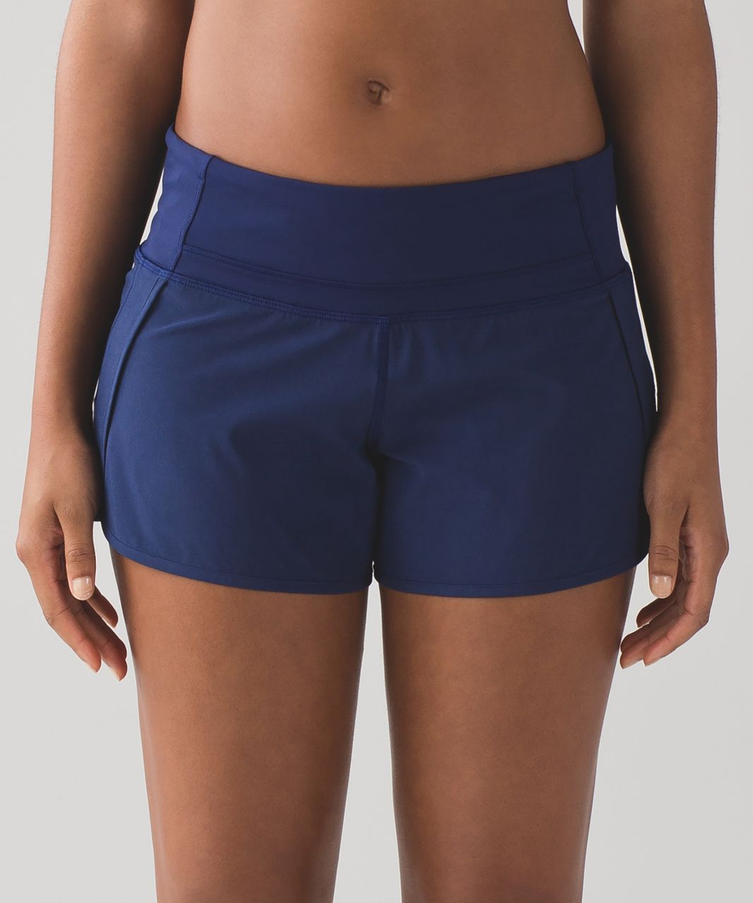 "Lululemon Run Times Short *4-way Stretch 4"" - Hero Blue"