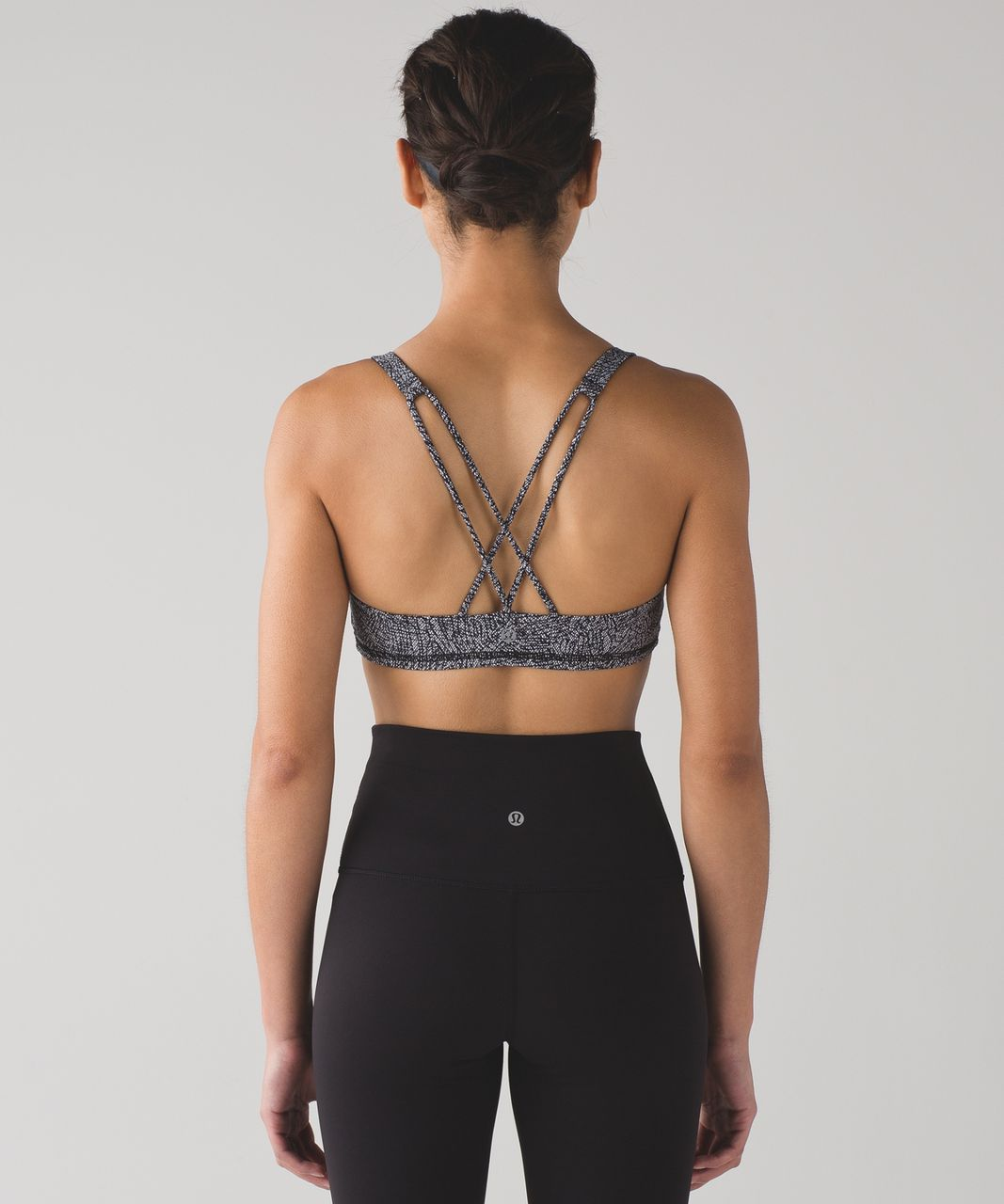 Lululemon Free To Be Bra - Line Up White Black (First Release)