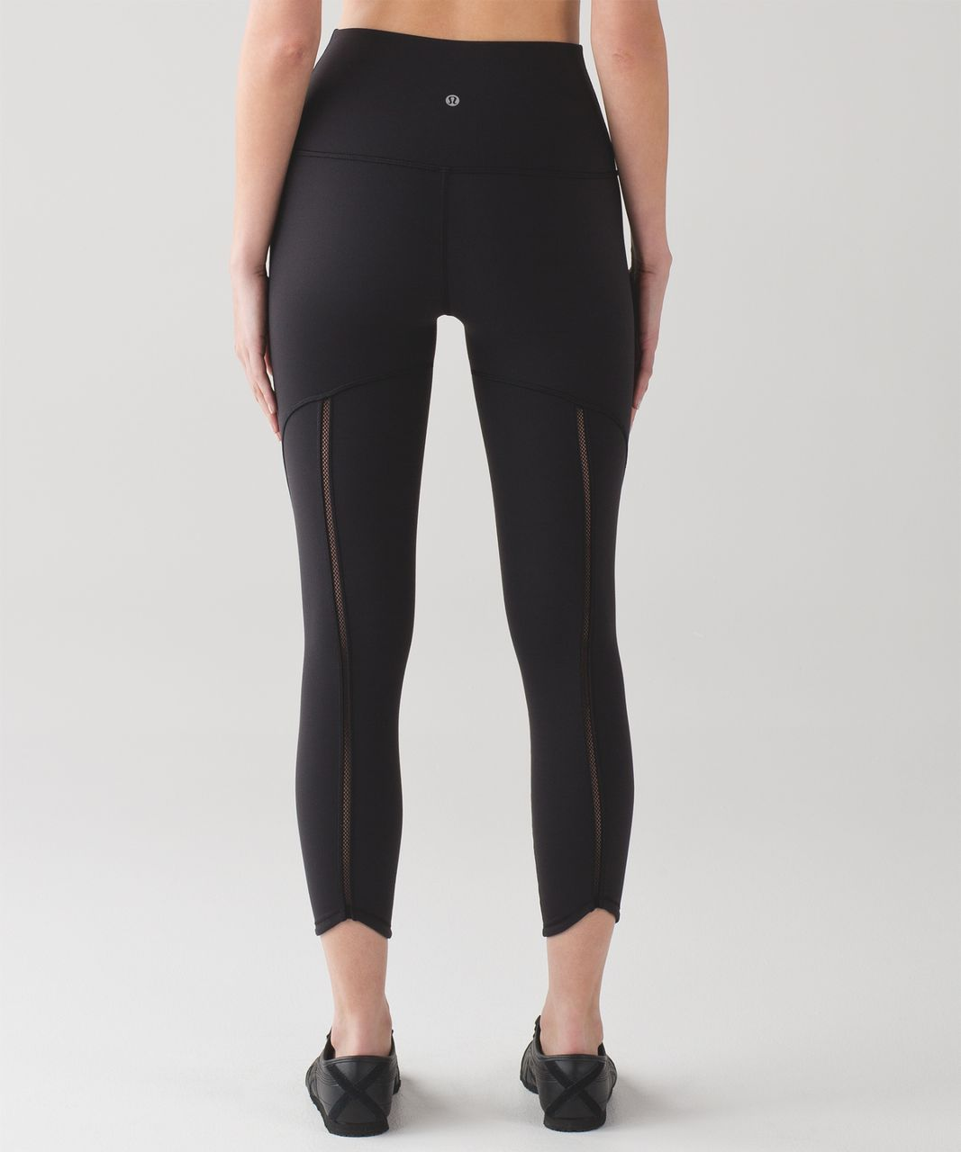 Lululemon Wunder Under Pant (Hi-Rise) (Mesh) - Black