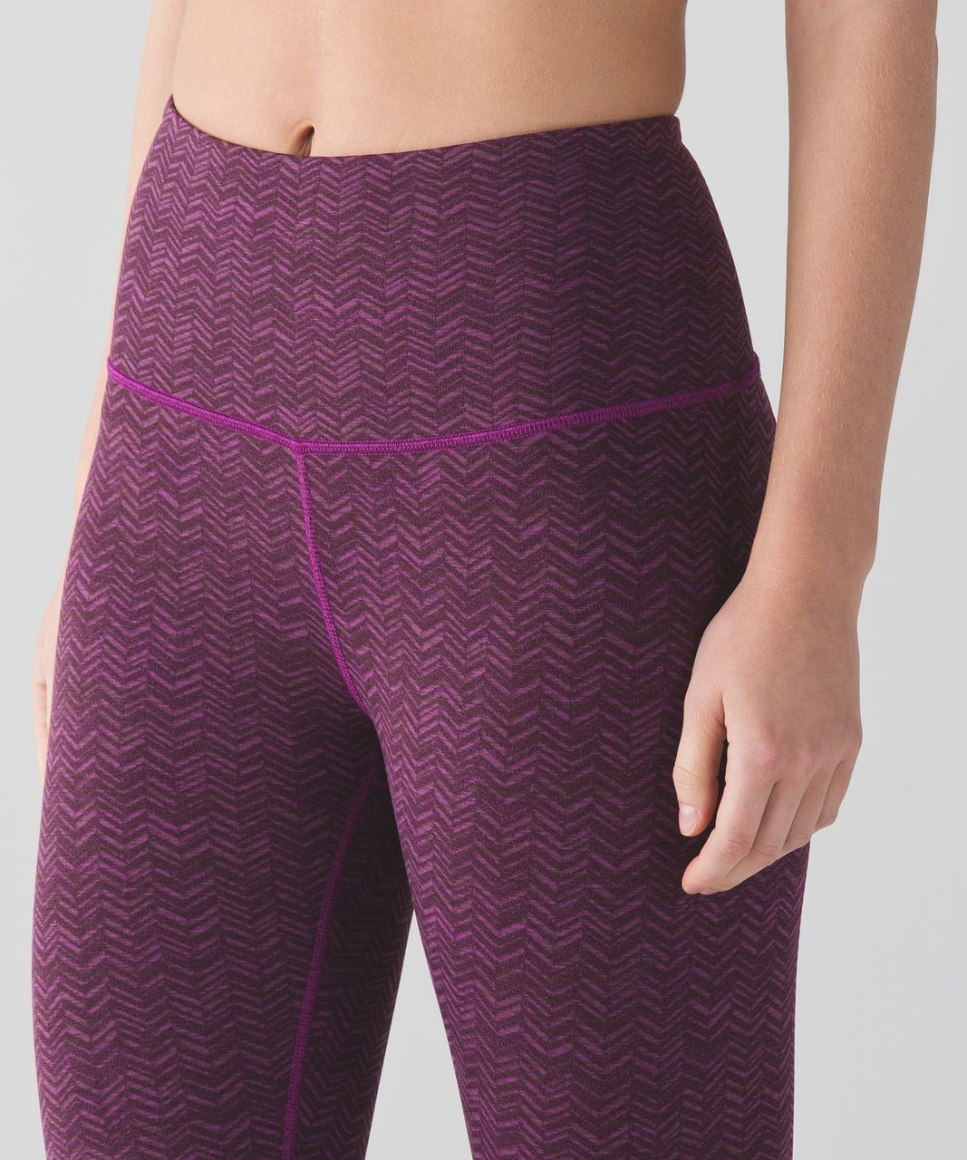 Lululemon Transcend Crop - Rio Mist Pink Paradise Red Grape / Pink Paradise / Red Grape