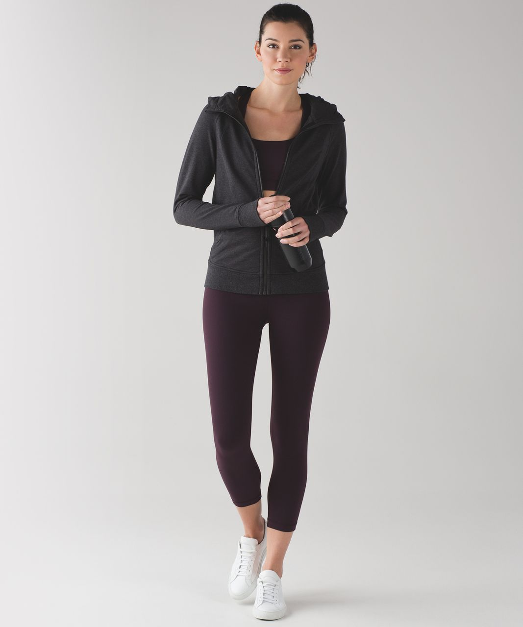 Lululemon Scuba Hoodie IV (Terry) - Heathered Black