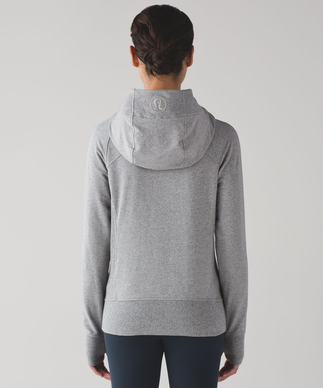 Lululemon Scuba Hoodie IV (Terry) - Heathered Speckled Medium Grey