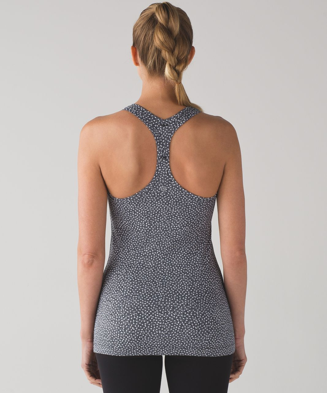 Lululemon Cool Racerback II (First Release) - Frozen Fizz White Black