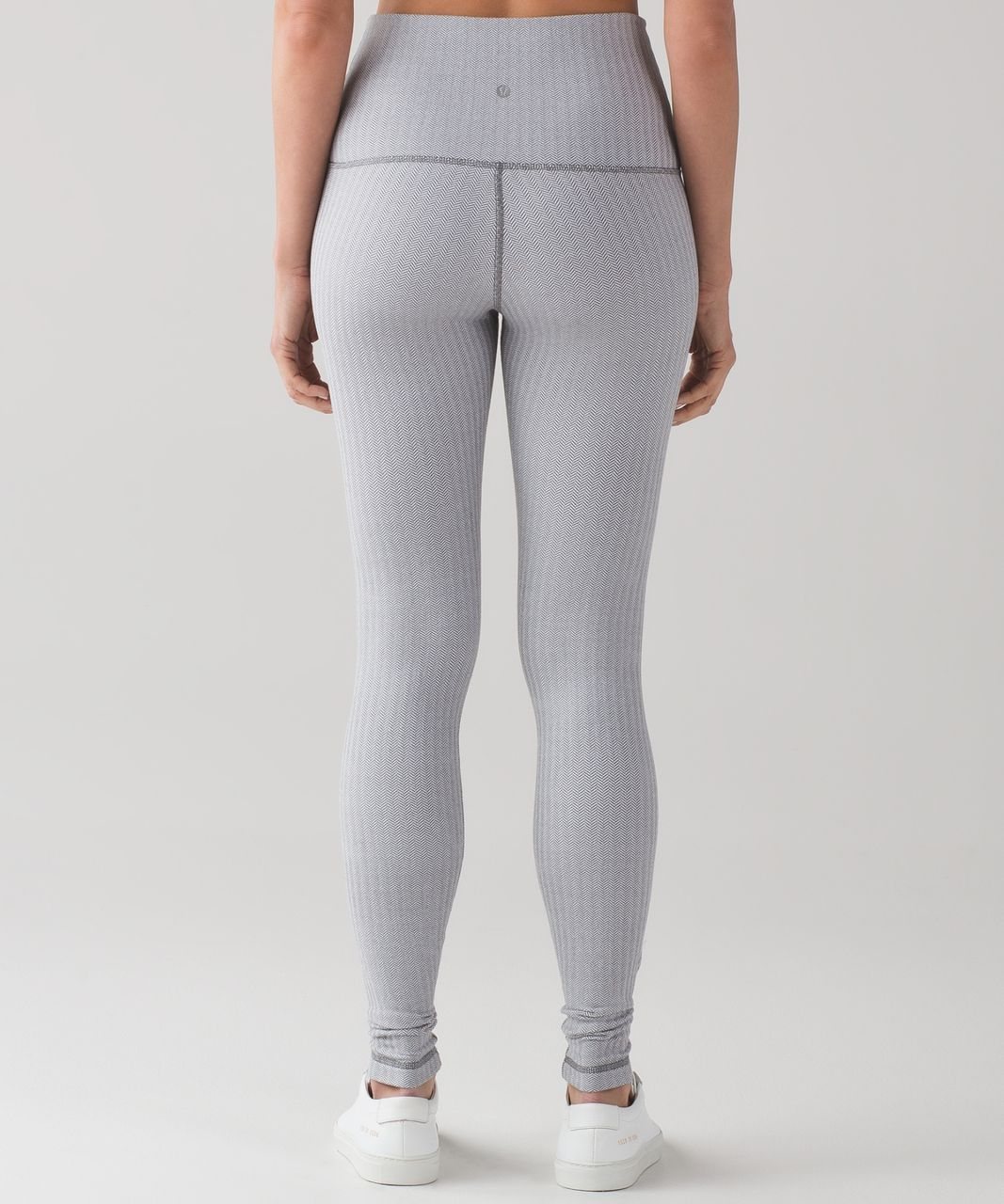 5357afd19 Lululemon Wunder Under Pant (Hi-Rise) - Heathered Herringbone Heathered  White Slate
