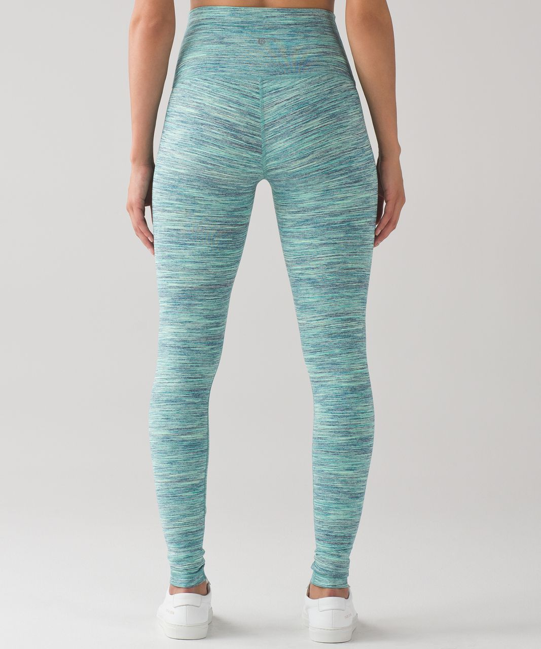 Lululemon wunder under pant hi rise space dye camo for Space pants fabric