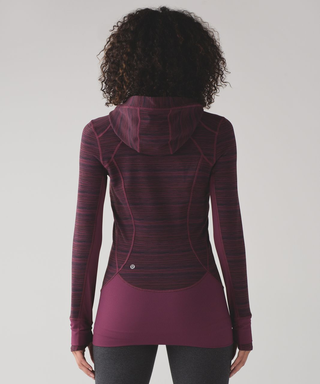 Lululemon Daily Practice Jacket - Cyber Red Grape Bordeaux Drama / Red Grape