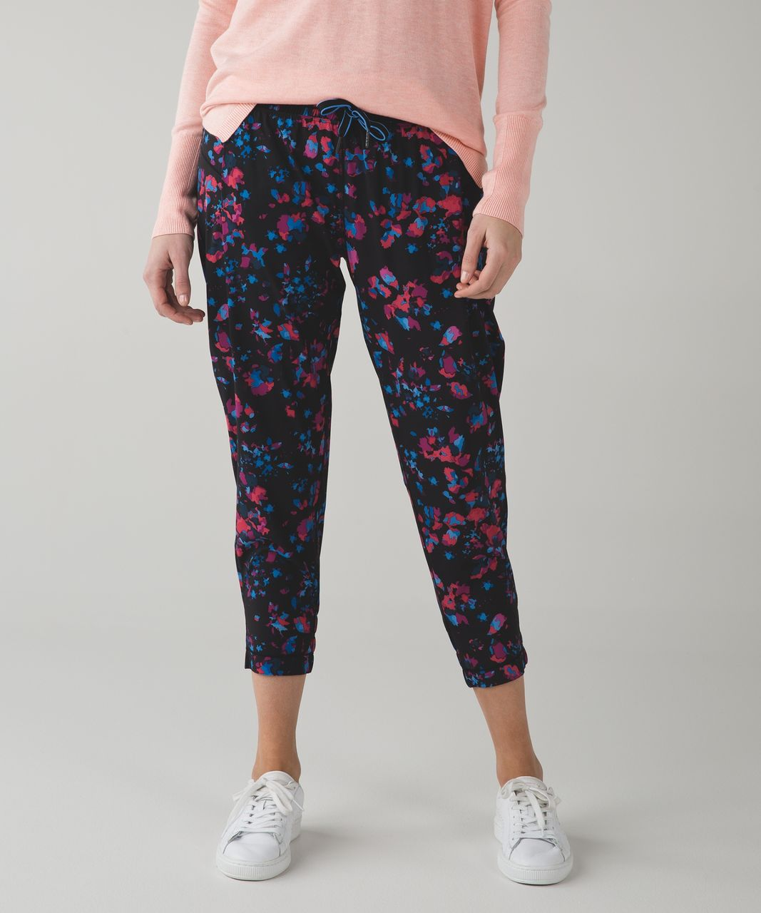 Lululemon Stretch It Out Crop - Dandy Digie Multi