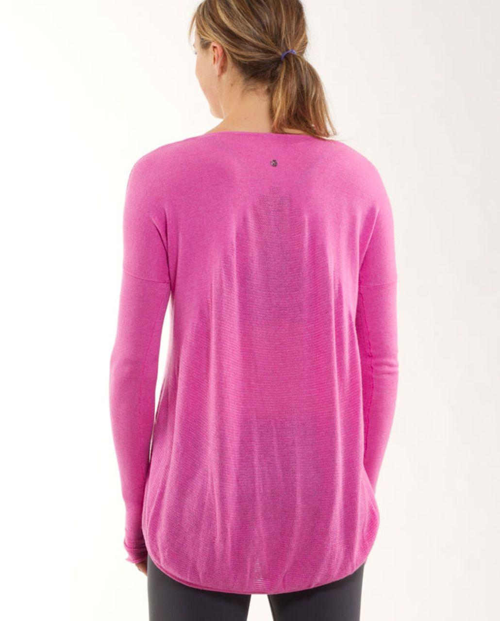 Lululemon Yoga Cozy Pullover - Heathered Smoky Rose