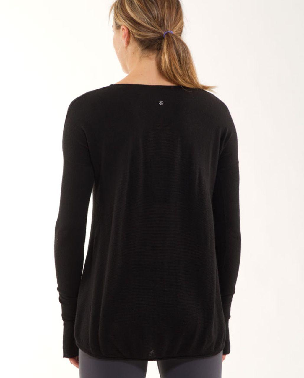 Lululemon Yoga Cozy Pullover - Black