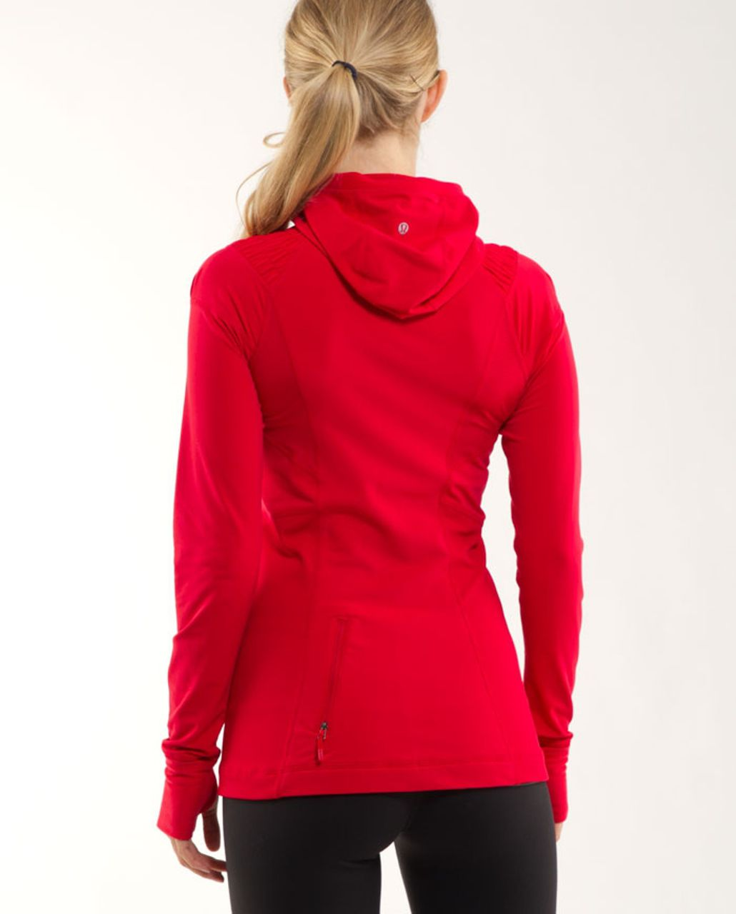 Lululemon Run: For It Pullover - Currant
