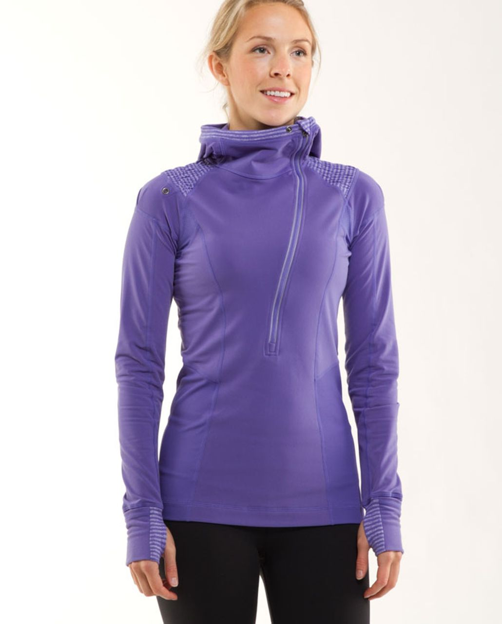 Lululemon Run: For It Pullover - Persian Purple