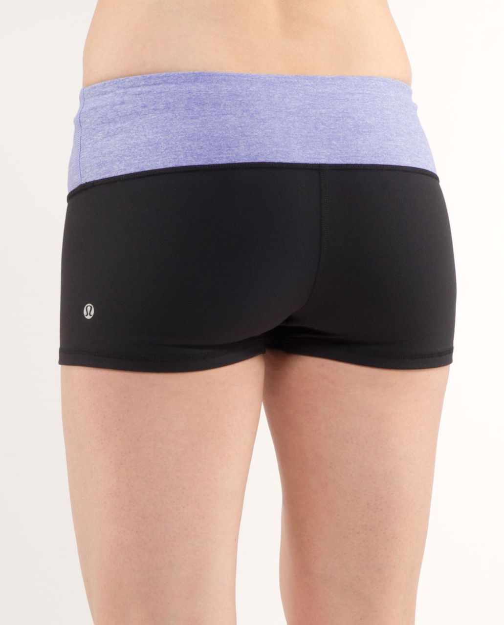 Lululemon Boogie Short - Black /  Heathered Persian Purple