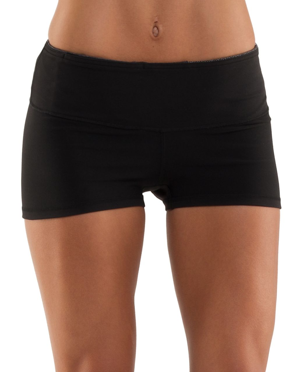 Lululemon Boogie Short - Black /  Quilting Winter 2