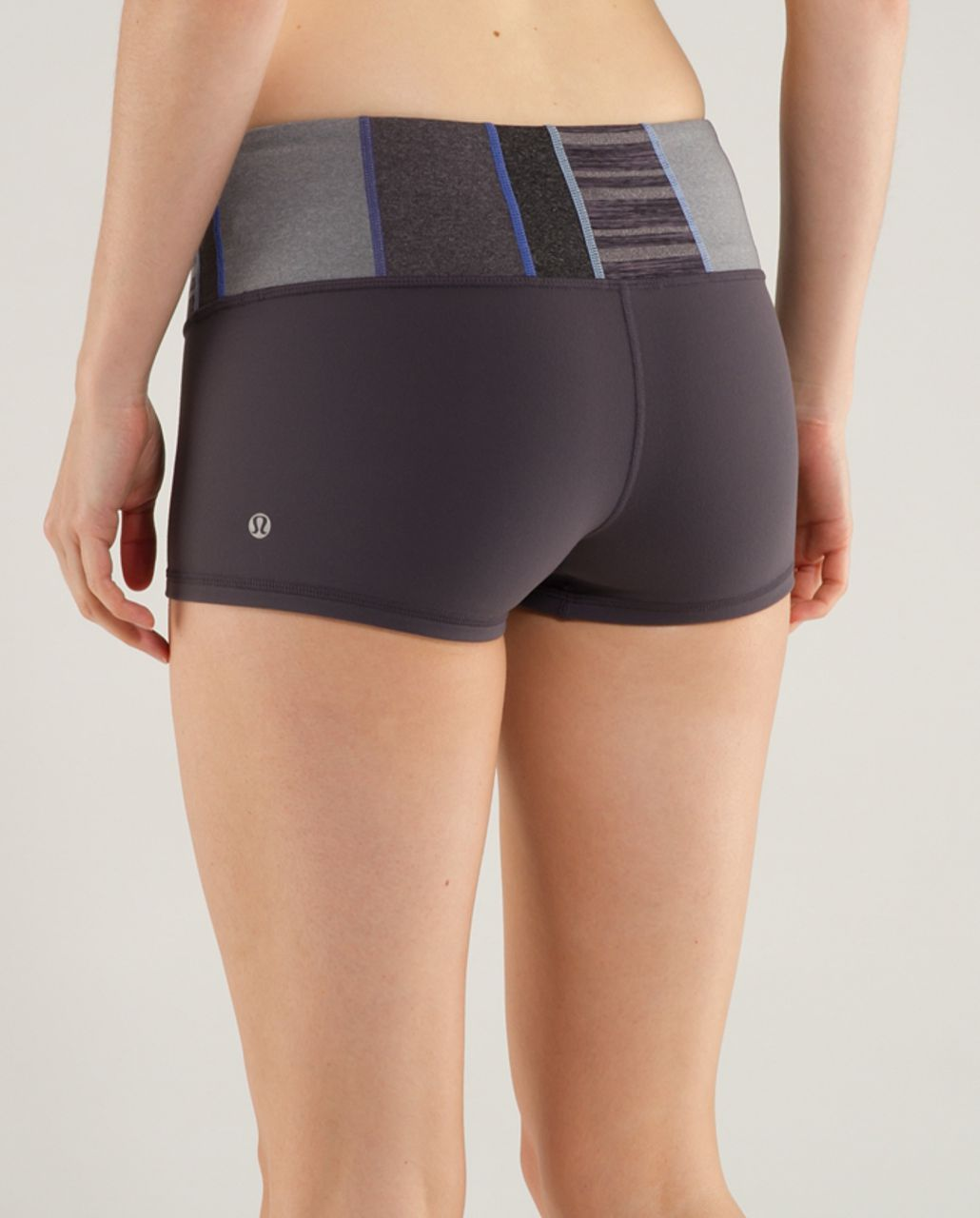 Lululemon Boogie Short - Coal /  Quilt 21