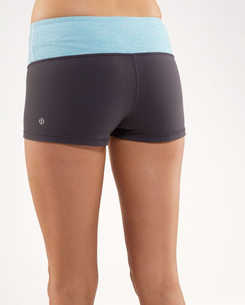 Lululemon Boogie Short - Coal /  Surge Wee Stripe