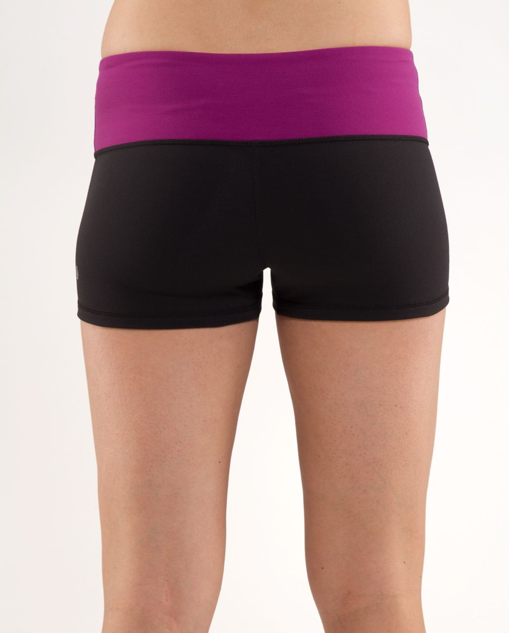 Lululemon Boogie Short - Black /  Dew Berry