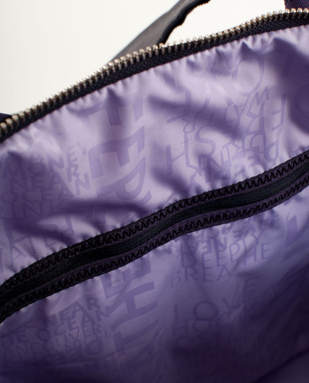 Lululemon Destined for Greatness Duffel - Black Swan Persian Purple Lilac Gradient