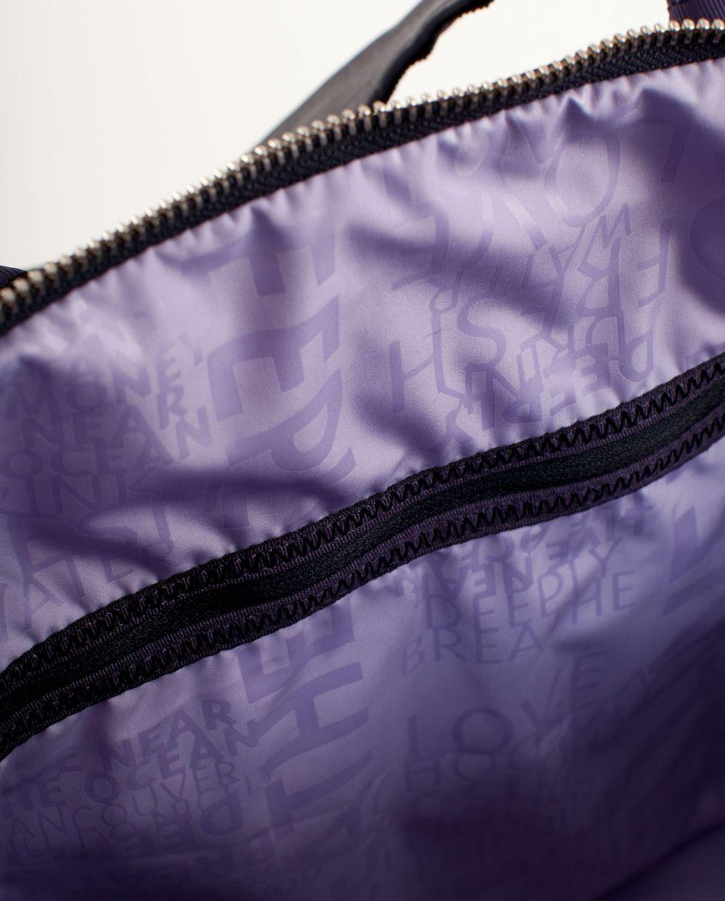 Lululemon Destined for Greatness Duffel - Black Swan Persian Purple Lilac Gradient