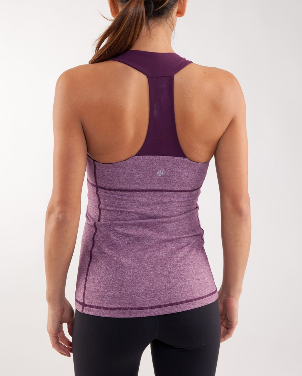 Lululemon Scoop Neck Tank - Heathered Plum /  Plum